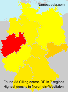 Surname Silling in Germany