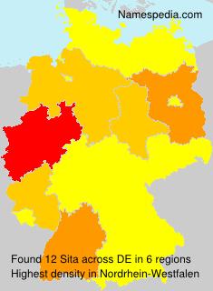 Familiennamen Sita - Germany
