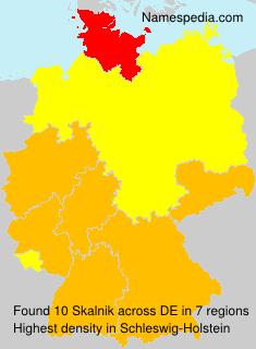 Surname Skalnik in Germany