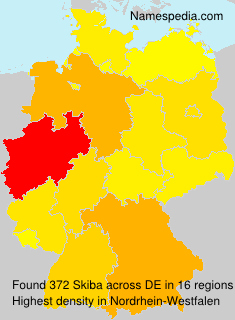 Surname Skiba in Germany