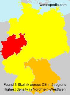 Familiennamen Skolnik - Germany