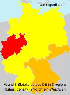 Surname Skripko in Germany