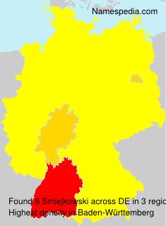 Surname Smiejkowski in Germany