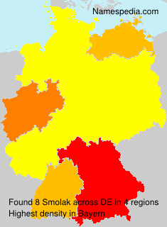 Surname Smolak in Germany