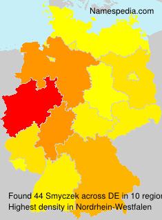 Familiennamen Smyczek - Germany