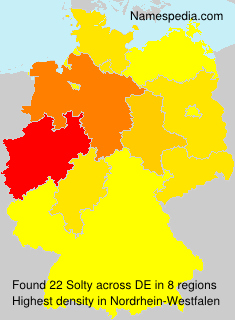 Surname Solty in Germany
