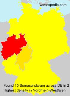 Familiennamen Somasundaram - Germany