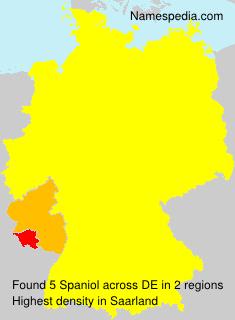 Surname Spaniol in Germany