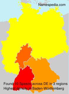 Surname Spasov in Germany