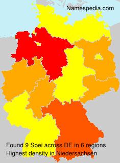 Surname Spei in Germany