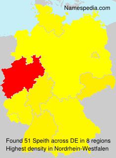 Familiennamen Speith - Germany