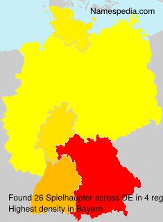 Familiennamen Spielhaupter - Germany