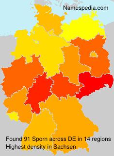 Surname Sporn in Germany