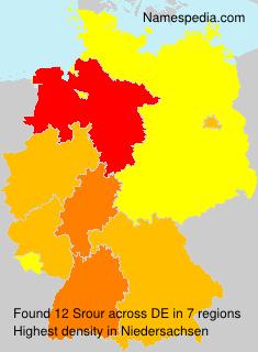 Familiennamen Srour - Germany