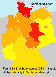 Familiennamen Stahlbock - Germany