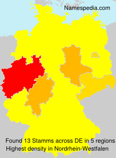 Surname Stamms in Germany