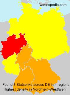 Surname Statsenko in Germany