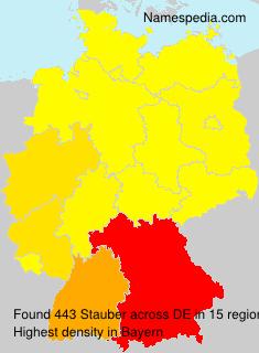 Surname Stauber in Germany