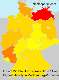 Surname Steinfurth in Germany