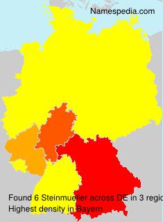 Surname Steinmueller in Germany