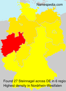Familiennamen Steinnagel - Germany