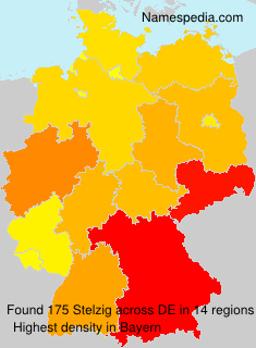 Familiennamen Stelzig - Germany