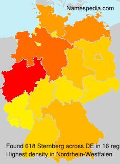Familiennamen Sternberg - Germany