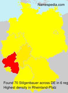 Surname Stilgenbauer in Germany