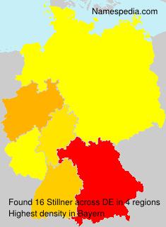 Familiennamen Stillner - Germany