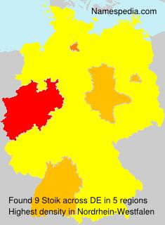 Familiennamen Stoik - Germany