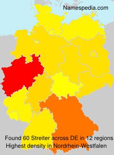Familiennamen Streiter - Germany