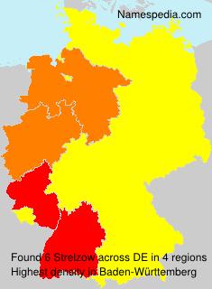Surname Strelzow in Germany