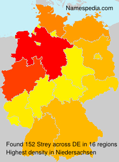 Familiennamen Strey - Germany