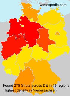 Surname Strutz in Germany