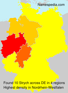 Surname Strych in Germany