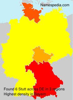 Surname Stutt in Germany