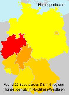 Familiennamen Sucu - Germany