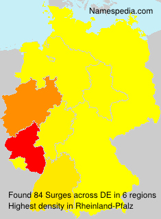 Surname Surges in Germany