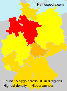 Familiennamen Sygo - Germany