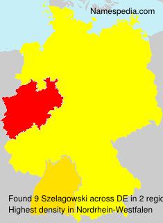 Surname Szelagowski in Germany