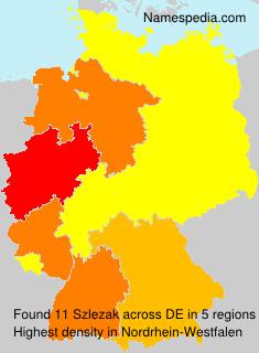 Familiennamen Szlezak - Germany