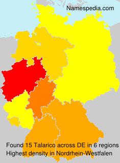 Familiennamen Talarico - Germany