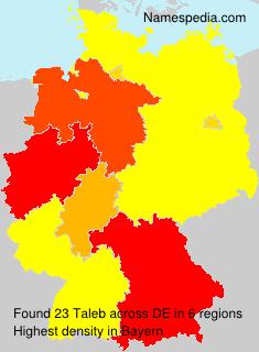 Surname Taleb in Germany