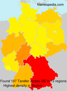 Surname Tandler in Germany