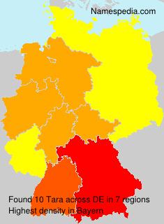 Familiennamen Tara - Germany