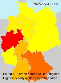 Familiennamen Tarhan - Germany