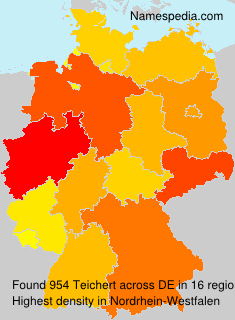 Surname Teichert in Germany
