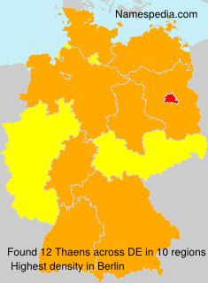 Thaens - Germany