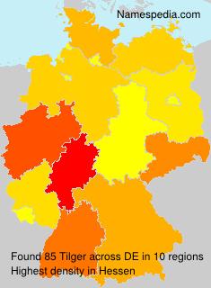 Familiennamen Tilger - Germany