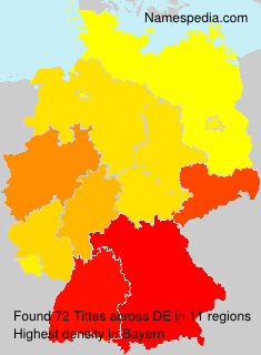 Familiennamen Tittes - Germany